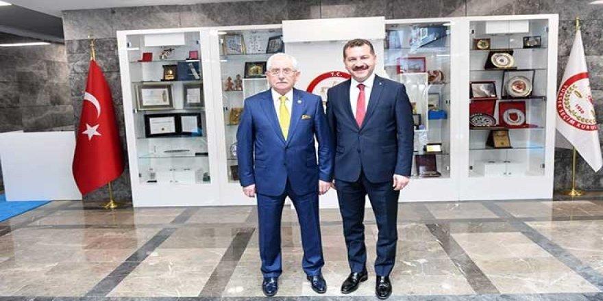 AK Parti'den YSK Başkanı'na dikkat çeken ziyaret