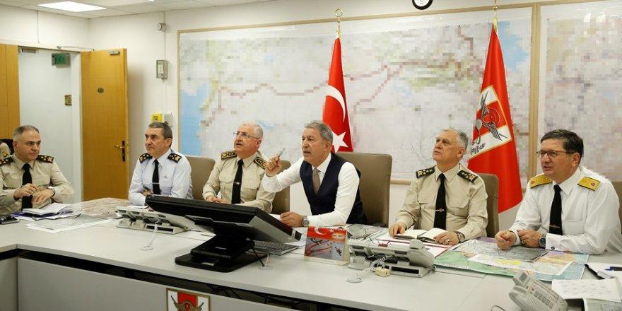 Akar: Saldırıları gerçekleştiren 28 teröristi etkisiz hale getirdik
