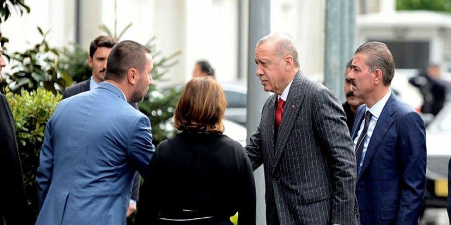 Cumhurbaşkanı Erdoğan'dan İstanbul'da sürpriz toplantı