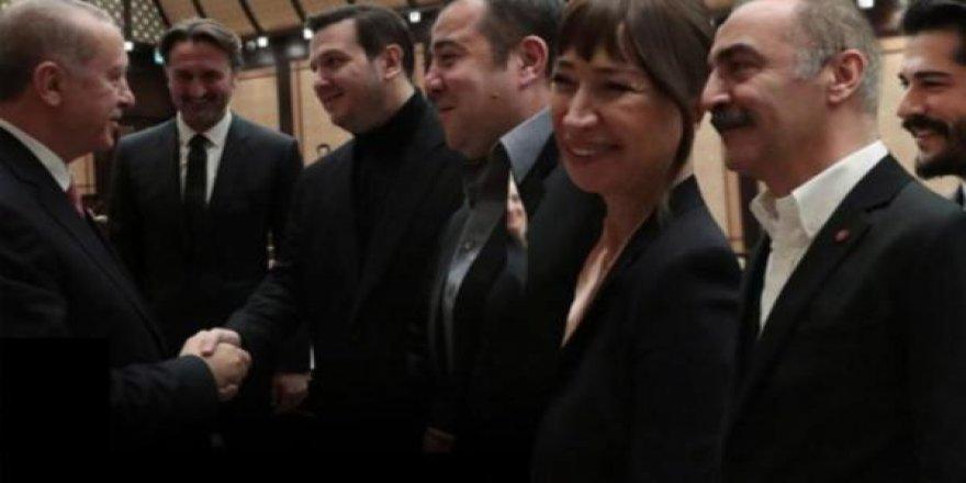 Erdoğan'dan o sanatçılara İmamoğlu göndermesi