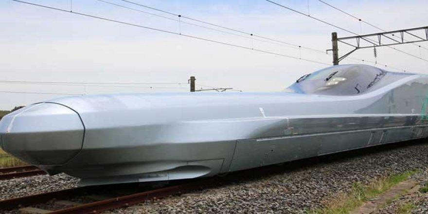Adı 'Mermi': Dünyanın en hızlı treni Japonya'da test ediliyor