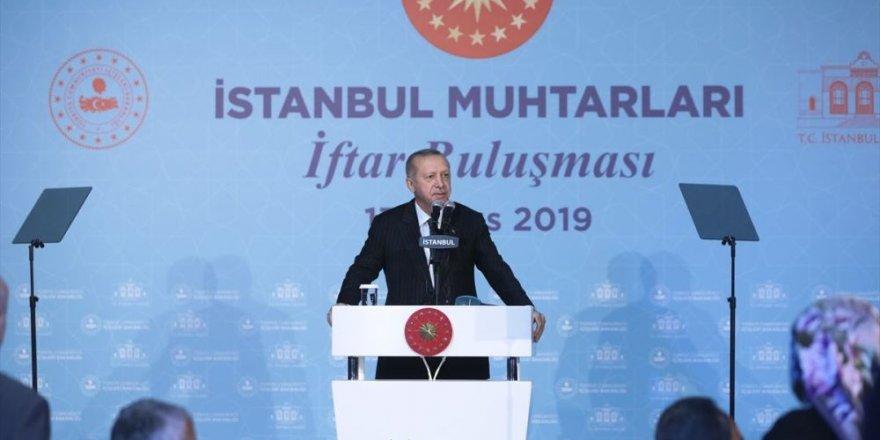 Erdoğan muhtarlarla iftar programında konuştu: Silah dediniz, silahı da verdik