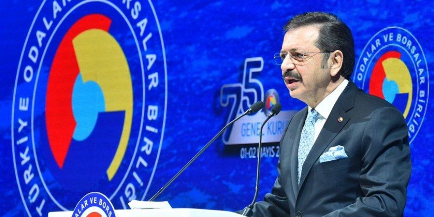 TOBB Başkanı Hisarcıklıoğlu: Ekonomik Alanda Bir İstikbal Mücadelesi…