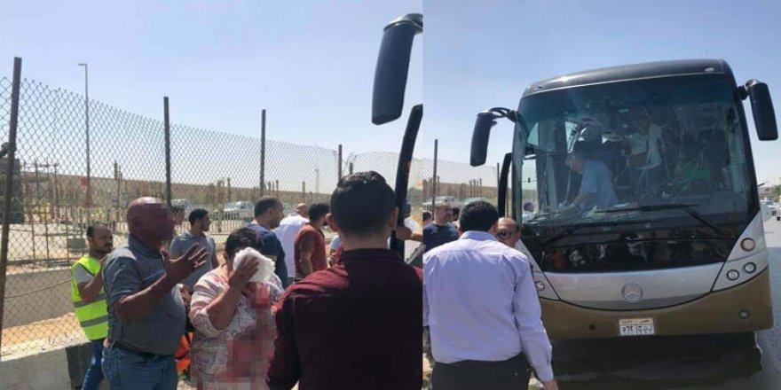 Son Dakika... Mısır'da Turist Otobüsünde Patlama