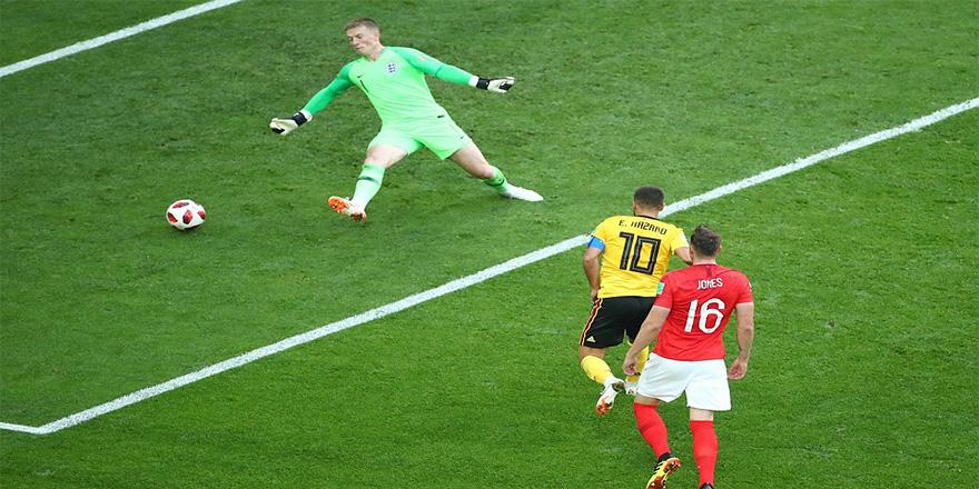 Belçika dünya üçüncüsü, İngiltere'yi 2-0 yendiler