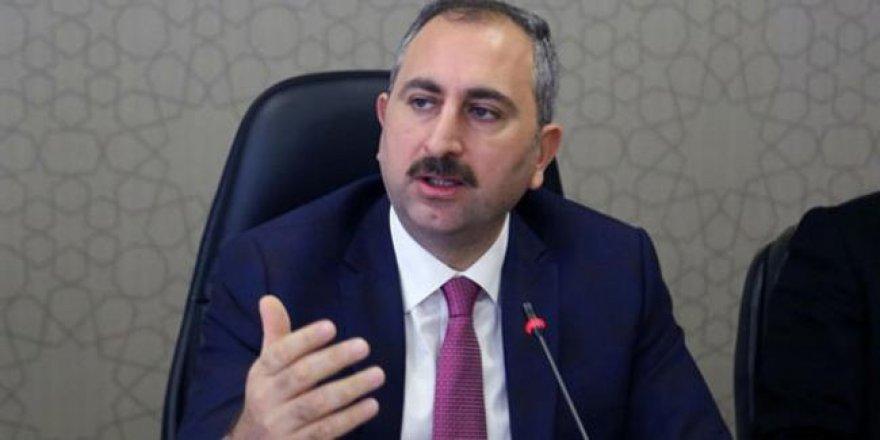 Adalet Bakanı'ndan Kritik Açıklama