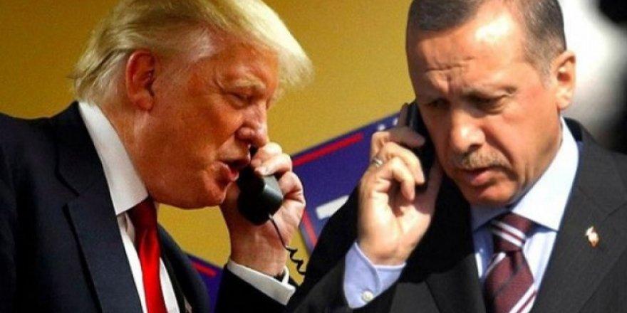 Cumhurbaşkanı Erdoğan, ABD Başkanı Trump'la Telefonda Görüştü
