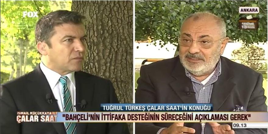 Türkeş'ten Bahçeli'ye cevap