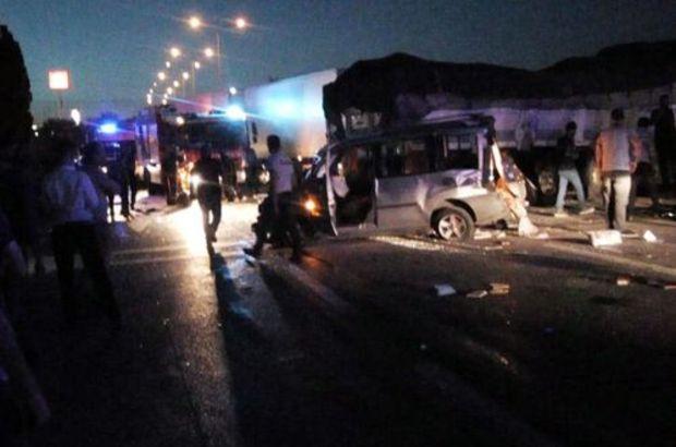 Ankara'da zincirleme trafik kazası:1 ölü 8 yaralı