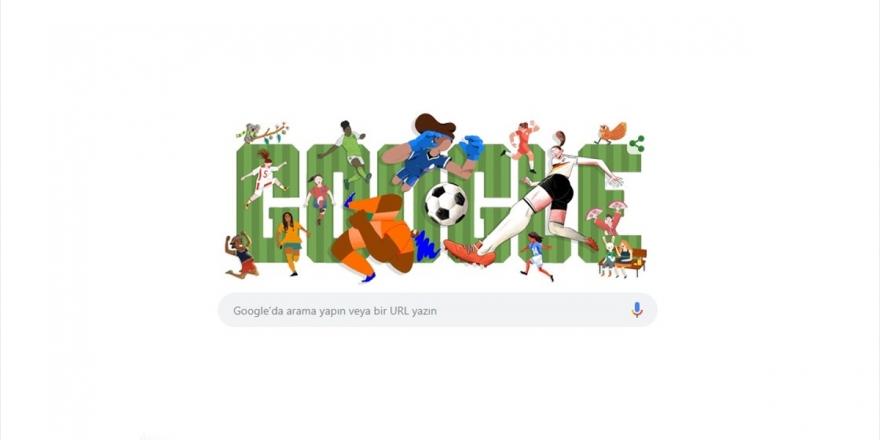 Google, 2019 Fıfa Kadınlar Dünya Kupası'nı Doodle Yaptı