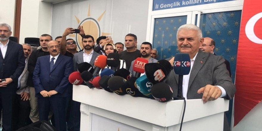 İstanbul Büyükşehir Belediye Başkan Adayı Binali Yıldırım: Diyarbakır'da Kürdistan Dedi