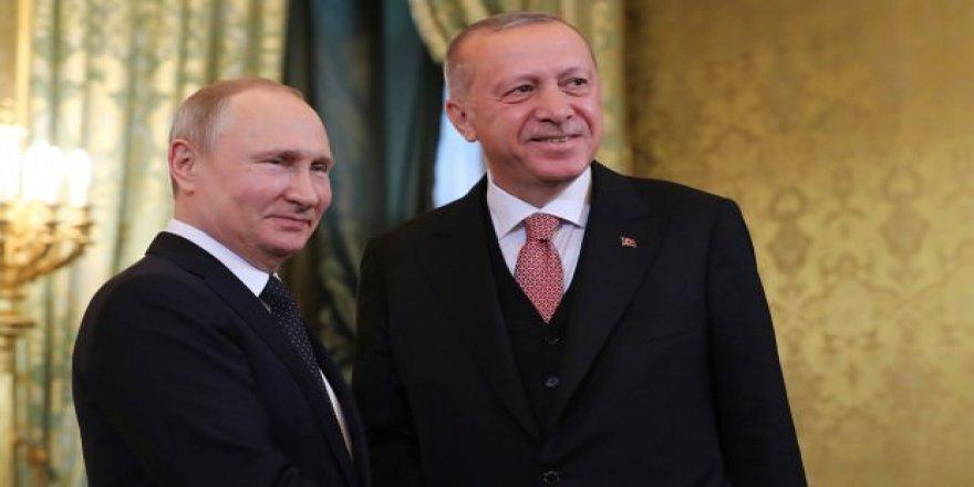 Rusya Devlet Başkanı Putin'den Türkiye-Rusya İş Birliğine Övgü