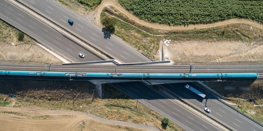 Çerkezköy-kapıkule Demir Yolu Hattında İmzalar Atılıyor