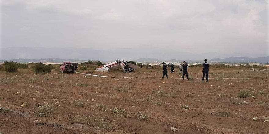 Antalya'da Sivil Eğitim Uçağı Düştü: 1 Ölü, 2 Yaralı