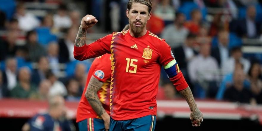 Ramos İspanya'yı Golleriyle Taşıyor
