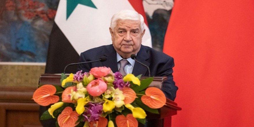 Suriye Dışişleri Bakanı: Suriye ve Türkiye Arasında Çatışma İstemiyoruz