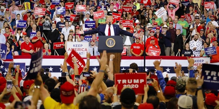 Trump Yeni Dönem Başkan Adaylığı İçin Seçim Kampanyasına Başladı