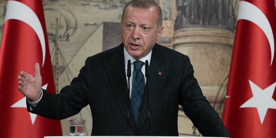 Cumhurbaşkanı Erdoğan: Yavuz Gemisi Türkiye'nin Kararlılığının En Somut İfadesidir