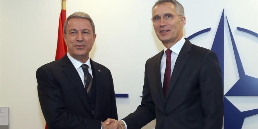 Akar İle Nato Genel Sekreteri Stoltenberg Görüştü