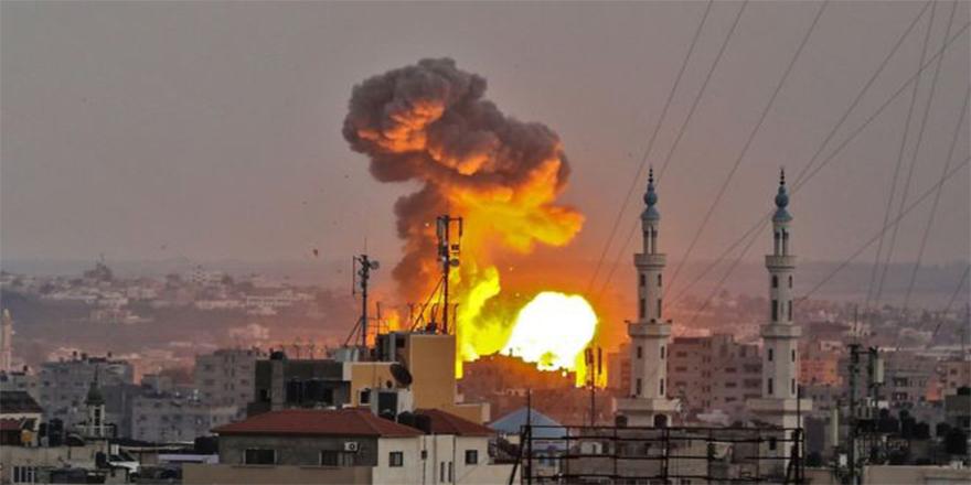 İsrail Gazze'ye ölüm yağdırdı: En az 4 Filistinli öldü