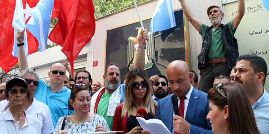 İYİ Parti'den Kerkük protestosu
