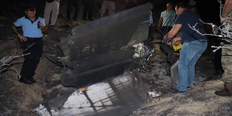 KKTC'de Düşen Cisim Patlamaya Sebep Oldu