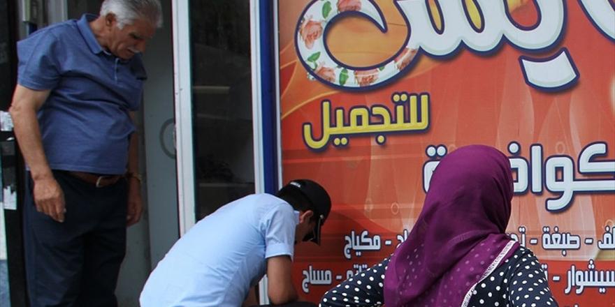 İstanbul'da Arapça Tabelalara Türkçe Standardı
