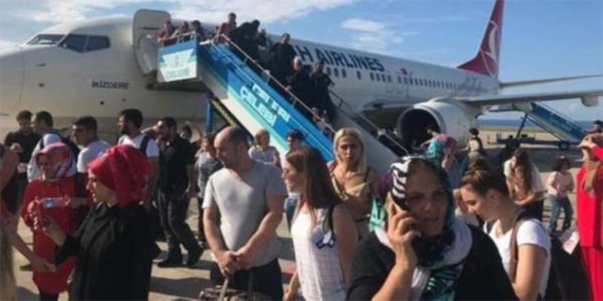 THY uçağında klima skandalı: Yolcular fenalık geçirdi