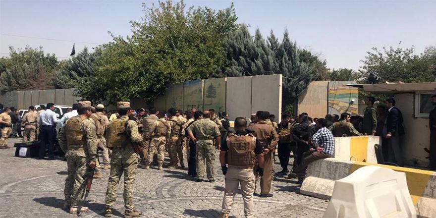 Silahlı saldırganlar Erbil valilik binasını işgal etti