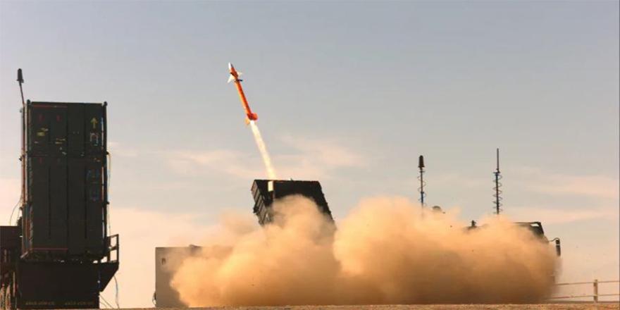 İsrail yeni silahını ilk kez kullandı