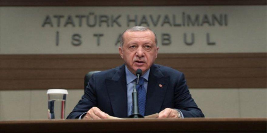Erdoğan, İstanbul'dan Saraybosna'ya Hareketinden Önce Atatürk Havalimanı'nda Konuştu