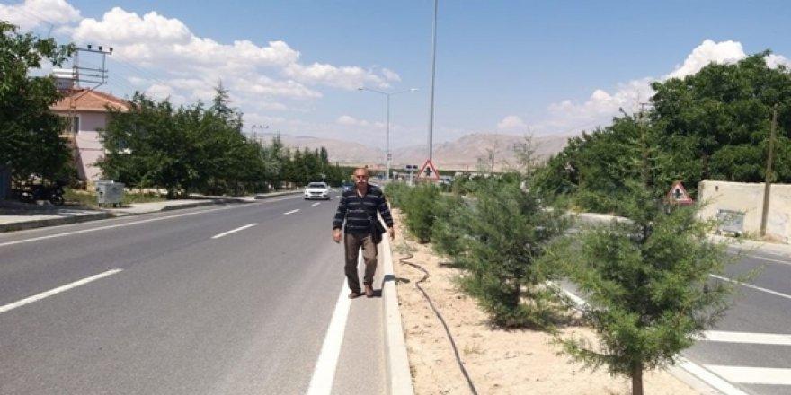 Kayısı Para Etmiyor Diyerek Malatya'dan Ankara'ya Yürüyor