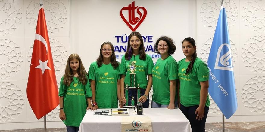 Türk Öğrenciler Sıfır Atık Projesi İle Abd'de Ödül Aldı