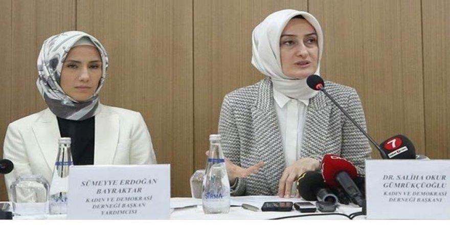 AK Parti'lilerin Hedefindeki Sümeyye Erdoğan Kameraların Karşısına Geçti