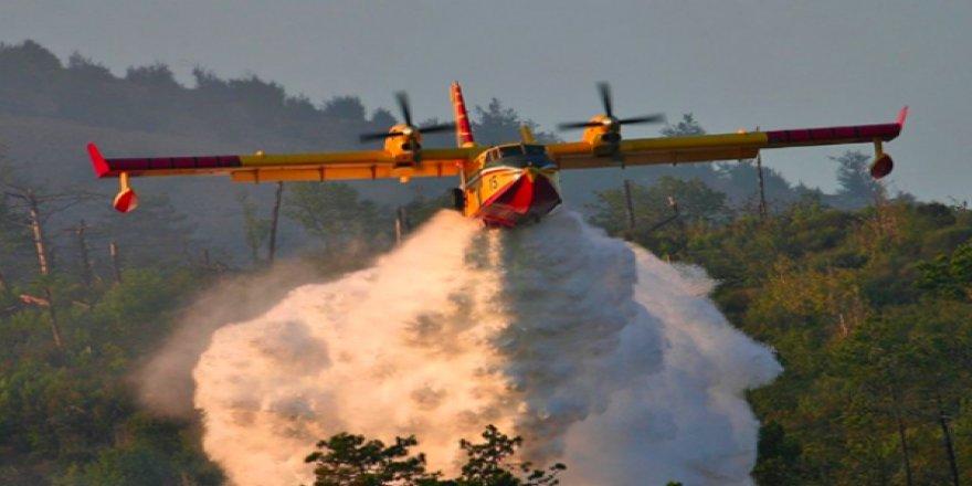 Binlerce Ağaç Kül Oldu, En Etkili Yangın Söndürme Uçakları Zincir Altında Bekliyor