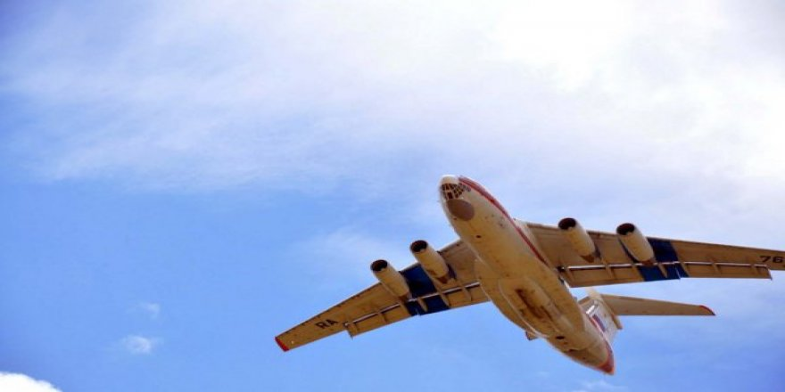 Ankara'ya Peş Peşe Rus Uçakları İnmeye Başladı