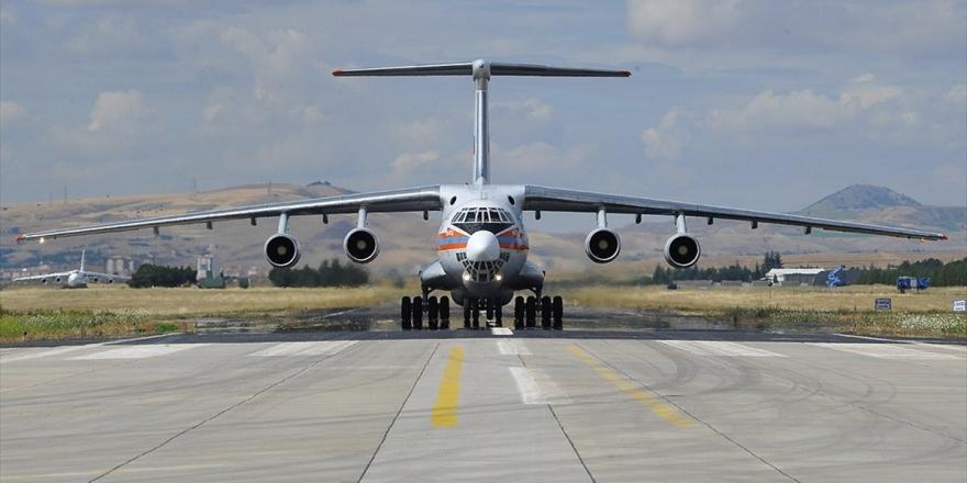 S-400 Sevkiyatı Kapsamında 5. Uçak Mürted'e İndi