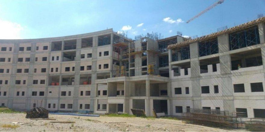 Mamak Devlet Hastanesi'nin Yapımı Tasarruf Tedbirlerine Takıldı