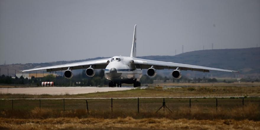 S-400 Sevkiyatı Kapsamında 13. Uçak Mürted'e İndi