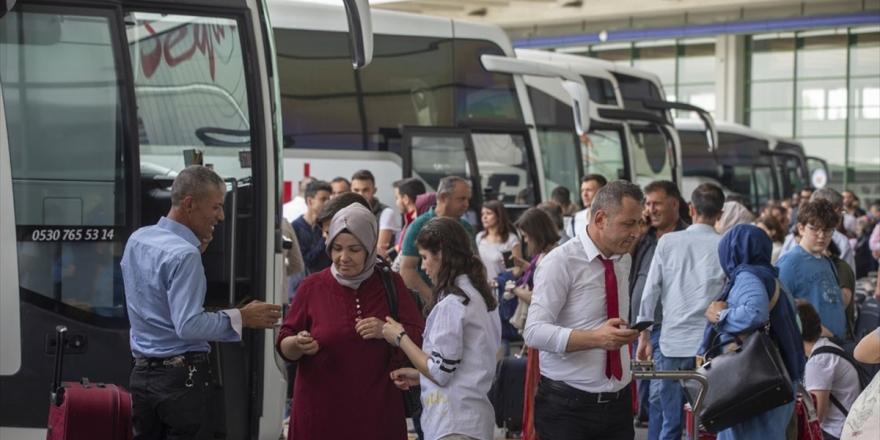 Otobüs Firmalarına Ek Sefer İzni
