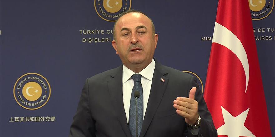 Çavuşoğlu, 'Türkiye'ye kimse dikte edemez