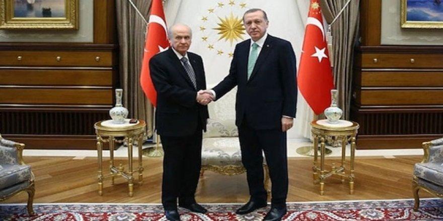 Başkan Erdoğan, Bahçeli İle Görüştü
