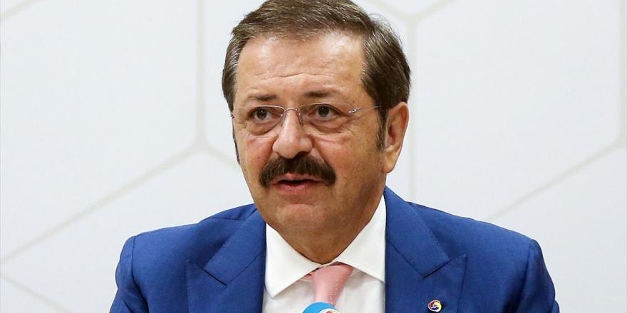 TOBB Başkanı Hisarcıklıoğlu: Şehitlerimiz yüreğimizi yaktı