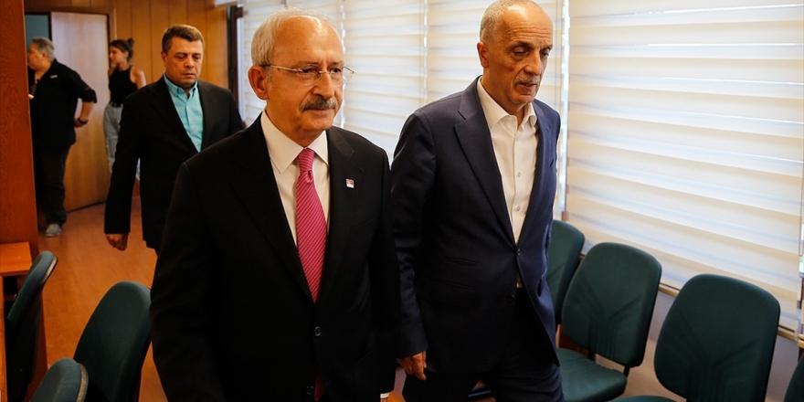 Kılıçdaroğlu Türk-iş'i Ziyaret Etti