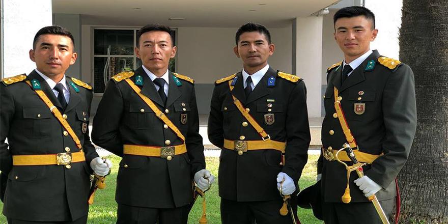 Ulupamir köyünden dört teğmen TSK saflarında