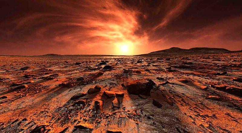 ARAŞTIRMACILARA GÖRE, KIZIL GEZEGEN MARS'A GİDECEK ASTRONOTLAR HAFIZA KAYBI VE ENDİŞE BOZUKLUĞU GİBİ RAHATSIZLIKLAR YAŞAYABİLİR