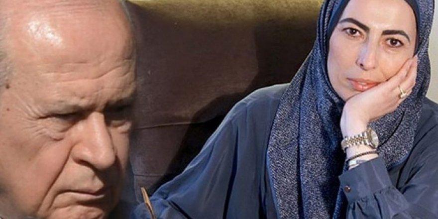 Nihal Olçok'tan Bahçeli'ye Öcalan göndermesi
