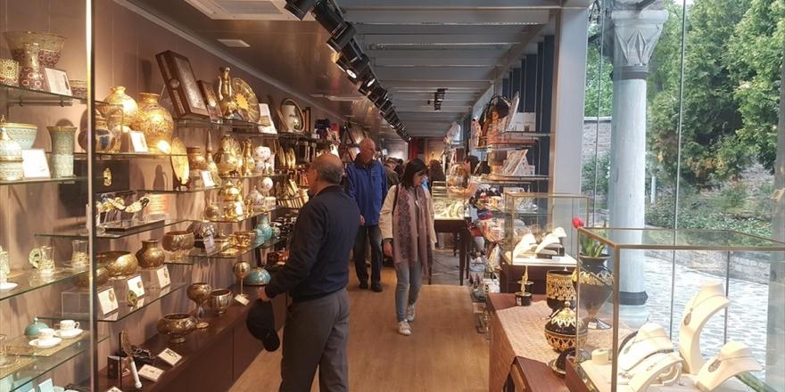 Türkiye'deki Müze Mağazalarına Yabancılardan Yoğun İlgi
