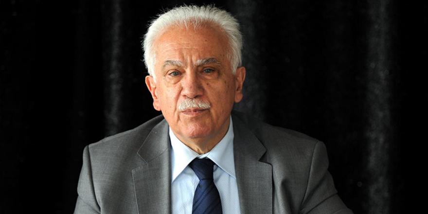 """Doğu Perinçek: Abdullah Gül, Ahmet Davutoğlu ve Ali Babacan """"FETÖ'nün siyasi ayağıdır!"""""""