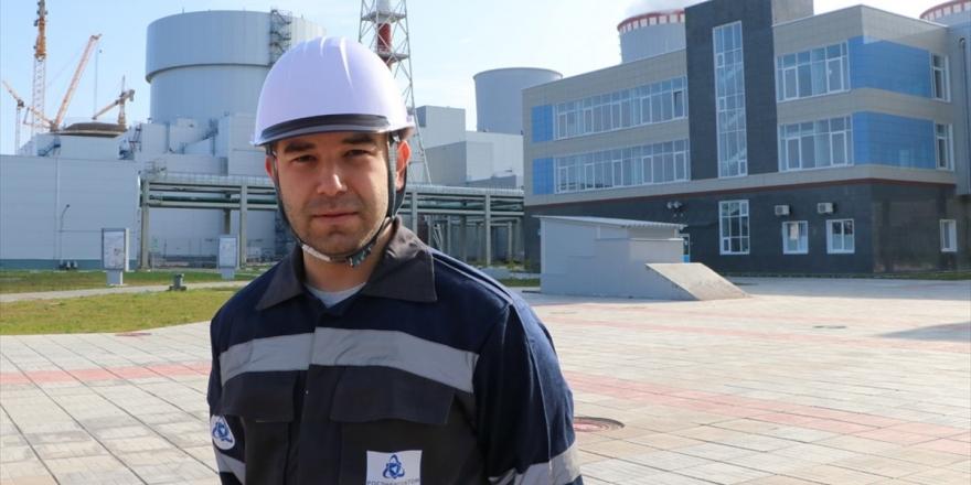 Genç Türk Mühendisler Akkuyu Ngs'de İş Başı Yapıyor